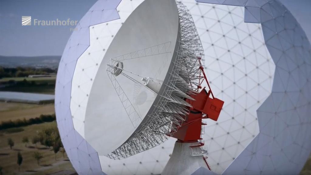 Weltraumbeobachtungsradar TIRA